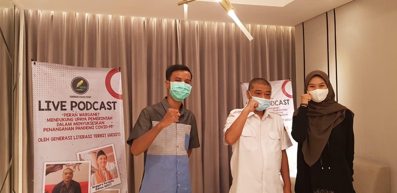 Komunitas GESIT Ajak Warganet Dukung Kebijakan Pemerintah Tangani Covid-19